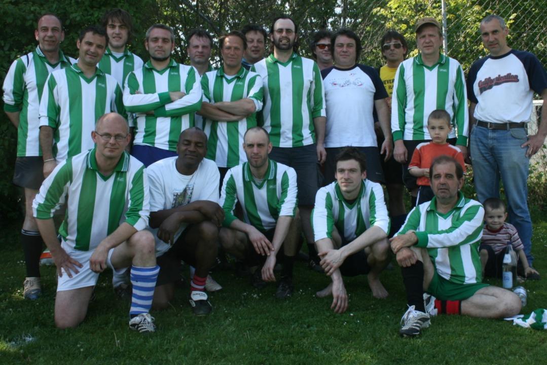 Das Team von Kurzschluss Osram Heyncke...die im Mai 2008 in Freiburg stattfand.  | Foto: Pei-Yi Liu