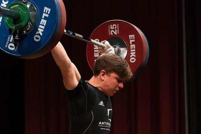 Mehr Potenzial: Moritz Huber kehrt in angestammte Gewichtsklasse zurück