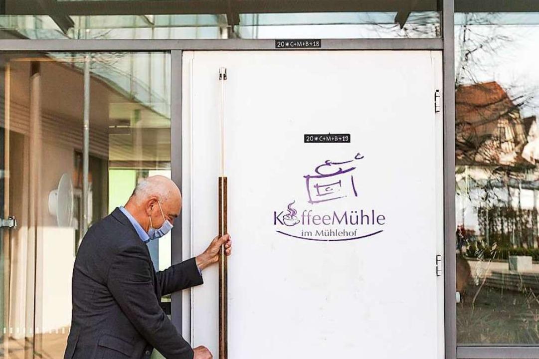 Wolfgang Uhl, Geschäftsführer des Mühl...eria wohl morgen wieder öffnen können.  | Foto: Philipp von Ditfurth (dpa)