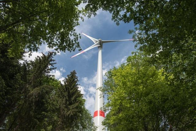 Ölunfall beim Abbau des Windrads im Orschweierer Wald