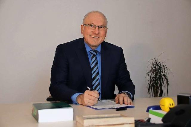 Hans Grabow will Bonndorf gestalten, nicht verwalten
