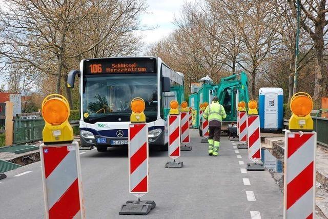 Umfrage: Die gesperrte Rheinstraße in Lahr hält die Kundschaft ab