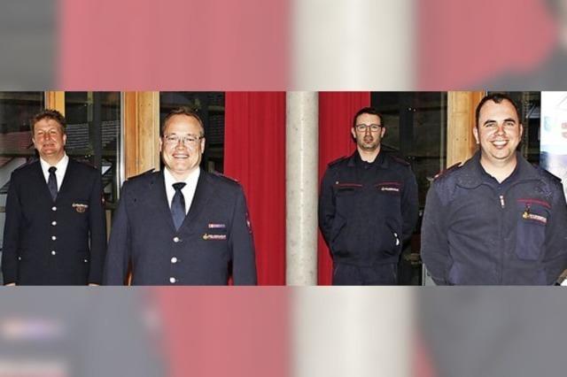 Neue Kommandanten für Zell und Atzenbach