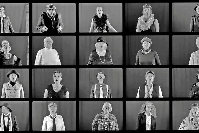 Der Frauenchor Eimeldingen hat sein erstes Musikvideo veröffentlicht