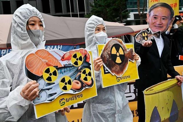 Nach Fukushima: Radioaktives Wasser soll nun gefiltert ins Meer