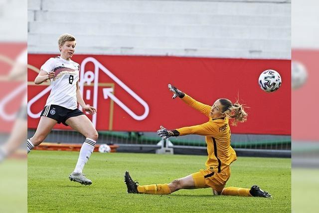 DFB-Frauen im Aufwärtstrend