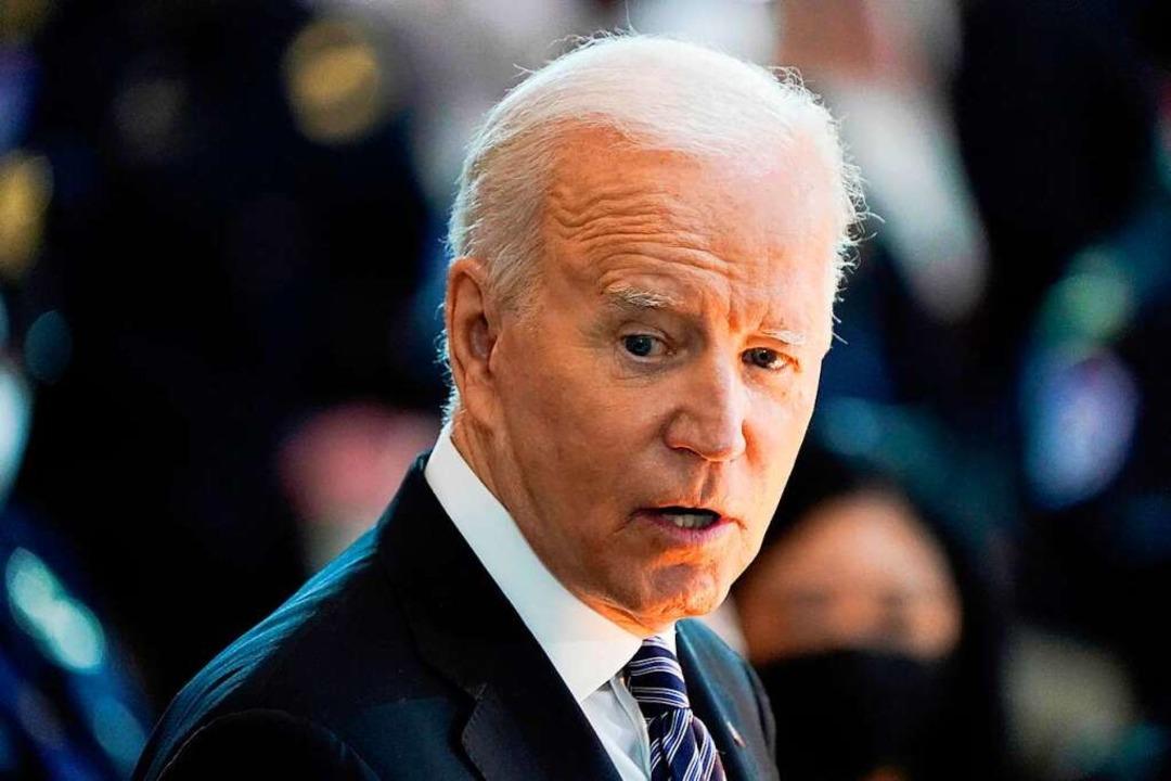 Joe Biden erweist sich bisher als sehr zupackender US-Präsident.    Foto: J. SCOTT APPLEWHITE (AFP)