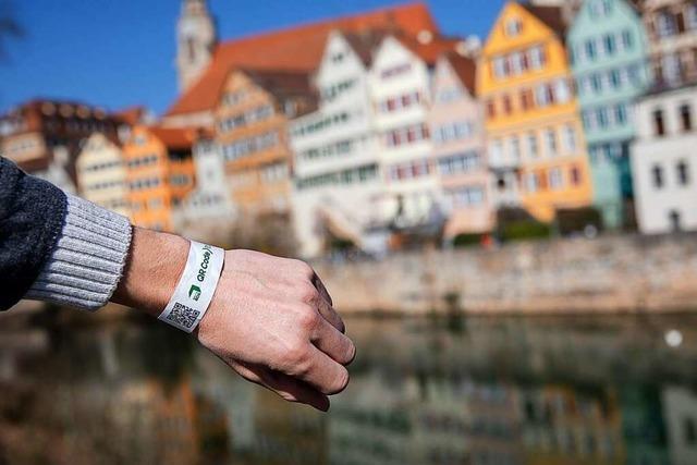 Tübingen beantragt Verlängerung seines Modellprojekts