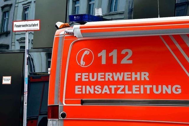 Schwelbrand in Tiefgarage in Freiburg-Betzenhausen