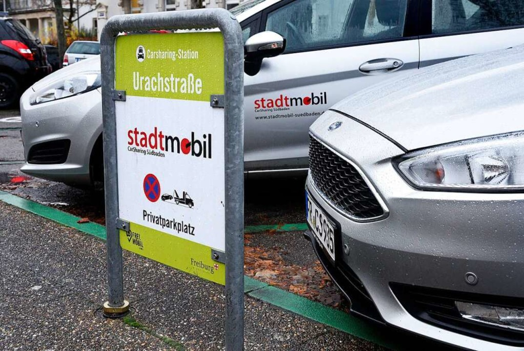 Der Bedarf an Carsharing-Parkplätzen (...en Stadtteilen höchst unterschiedlich.  | Foto: Thomas Kunz