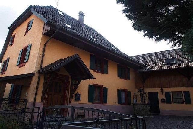 Das alte Vogtshaus in Adelhausen wurde 1599 errichtet