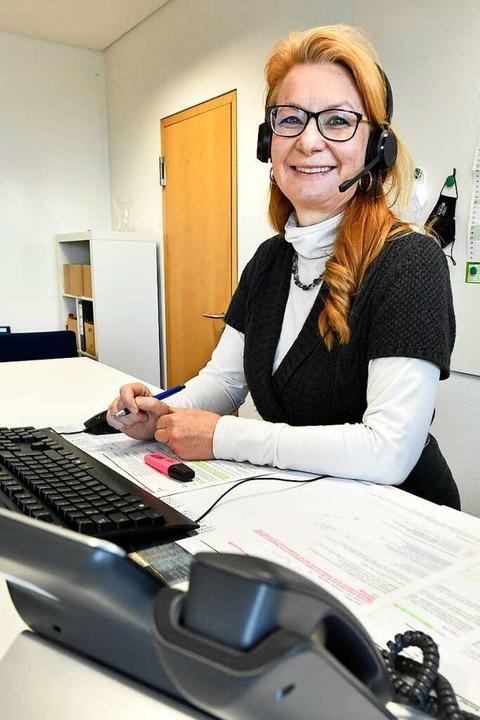 Bärbel Weber, Koordinatorin der mobilen Impfteams  | Foto: Michael Bamberger