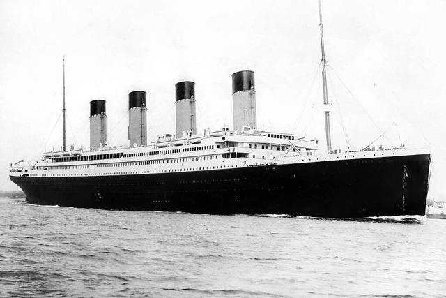 Ein Brief eines Todtmoosers erzählt von den letzten Stunden der Titanic
