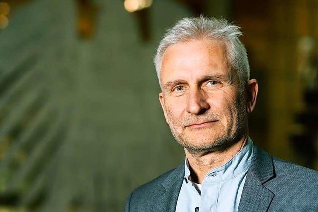 Gerhard Zickenheiner will das Direktmandat im Wahlkreis Lörrach-Müllheim holen
