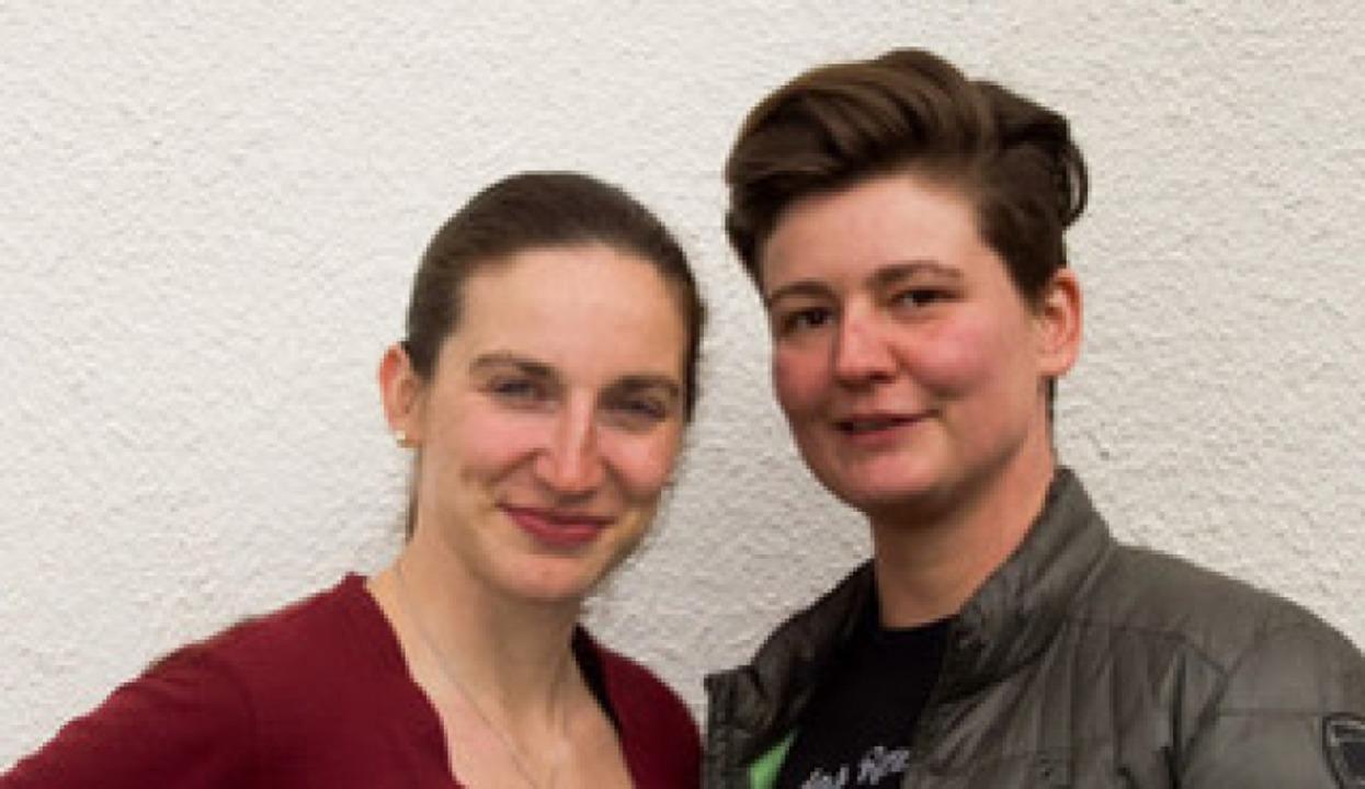 Ronja Thudichum (links), Diana Just  | Foto: Privat