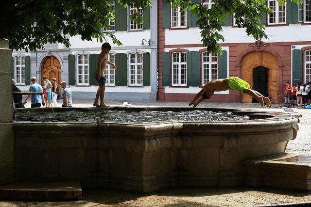 Warum in Brunnen zu baden in Müllheim verboten ist