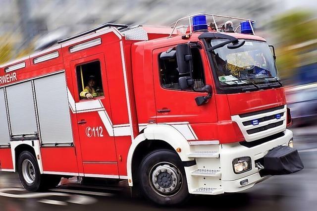 Feuerwehr flitzt zu vier Einsätzen an einem Tag