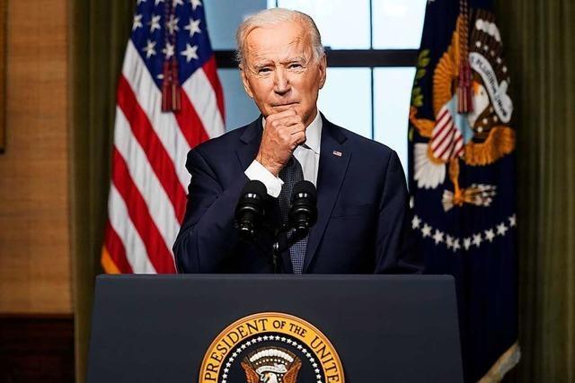 Biden kündigt Truppenabzug aus Afghanistan bis 11. September an