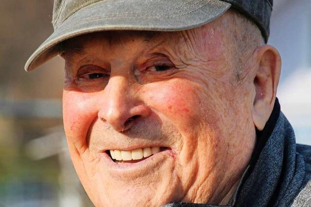 Mit Tatkraft, Empathie und Humor für Wagenstadt: Rudolf Rombach wird 90