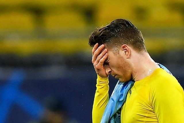 Auch Dortmund muss sich aus der Champions League verabschieden