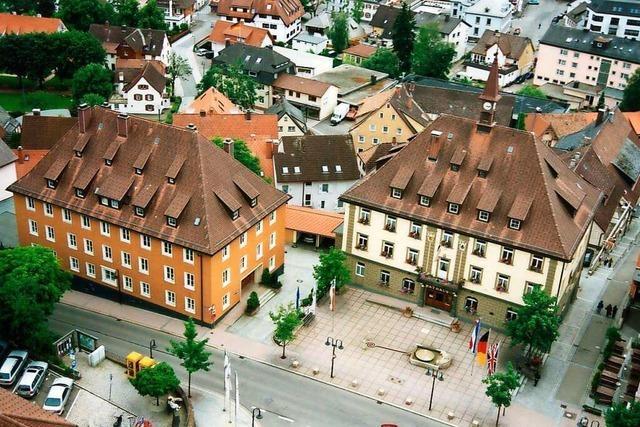 Die Fürstenberger helfen großzügig mit Bauholz zum Wiederaufbau