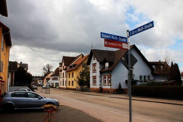 Johann-Baptist-von-Weiß-Straße in Ettenheim