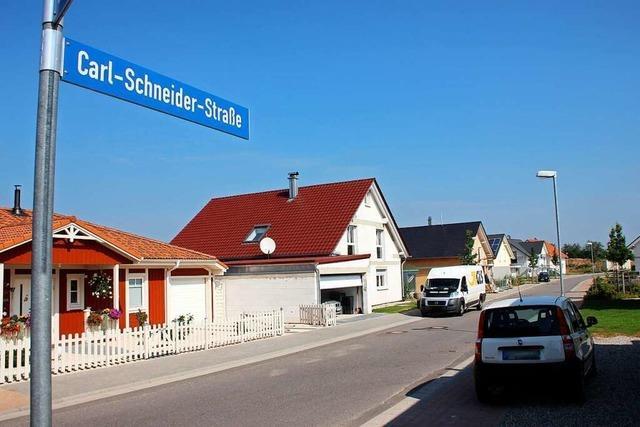 Carl-Schneider-Straße in Ettenheim