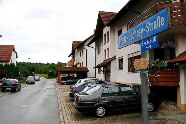 Franz-Gschrey-Straße in Ettenheim