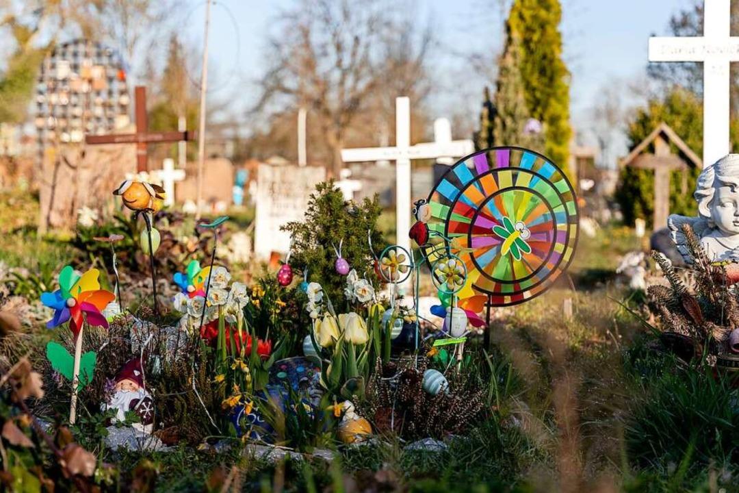 Gräber von Kindern auf dem Hauptfriedhof in Freiburg  | Foto: Joss Andres