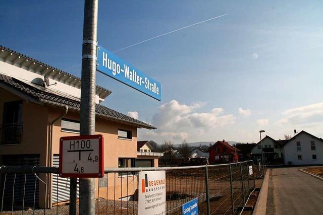 Hugo-Walther-Straße in Ettenheim
