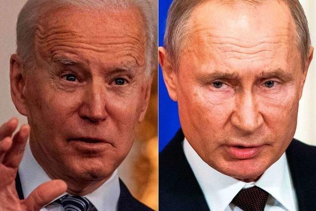 USA verhängen Sanktionen gegen Russland und weisen zehn Diplomaten aus