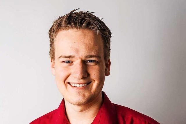 Die Linke nominiert Moritz Kenk im Wahlkreis Lörrach-Müllheim
