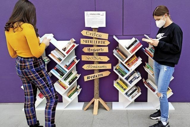 Geteilte Bücher, doppelte Freude