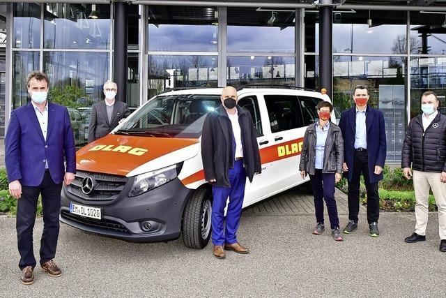 Transporter für die DLRG