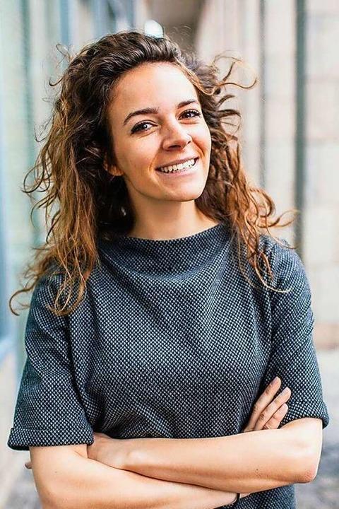 Leanna Muth arbeitet in der Wirtschaft... nach einem Co-Working Space aussieht.  | Foto: Lenna Muth