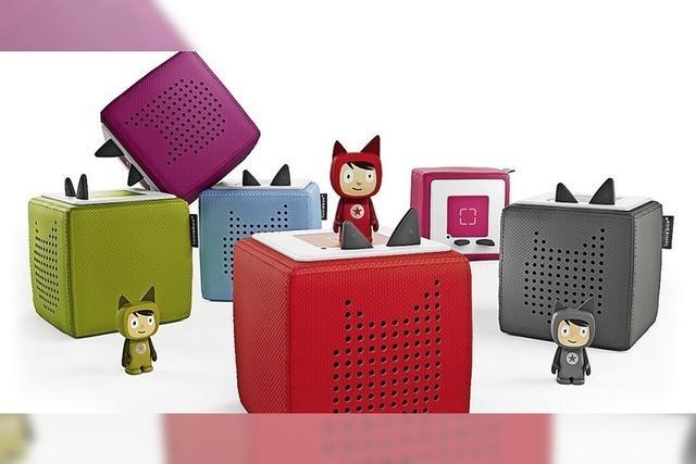Kinderbuch per Tonie-Box