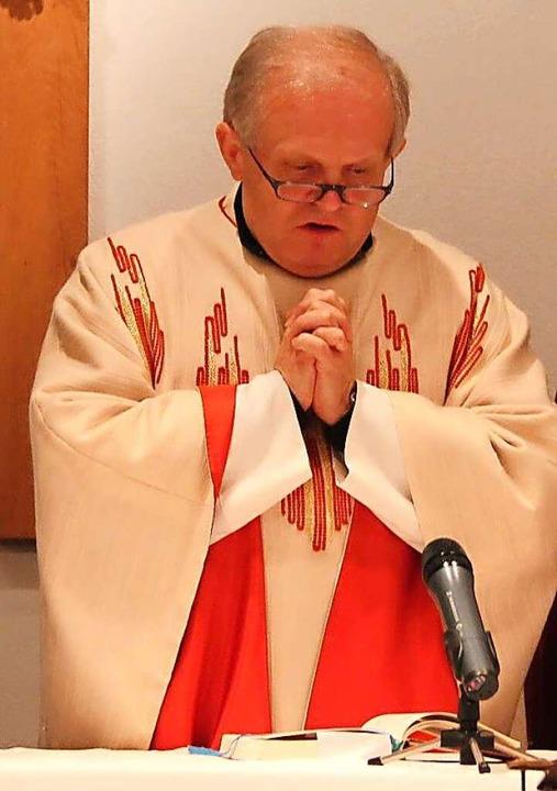 Pfarrer Adam Borek wird im Sommer die ...rgeeinheit March-Gottenheim verlassen.  | Foto: Horst David
