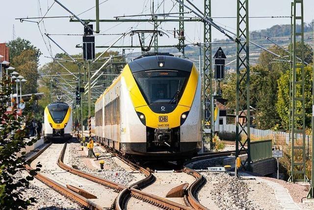 Gibt es von Waltershofen aus bald eine Verknüpfung zur Breisgau-S-Bahn?
