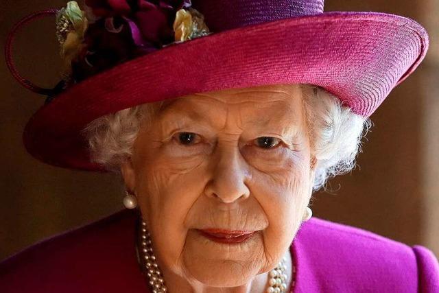 Zurück im Dienst, trotz Trauer: Königin Elizabeth II.