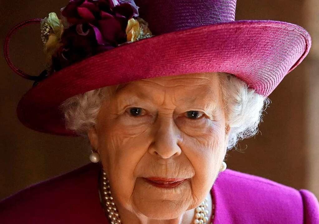 Königin Elizabeth II. ist seit 1952 Kö...igreichs Großbritannien und Nordirland  | Foto: KIRSTY WIGGLESWORTH (AFP)