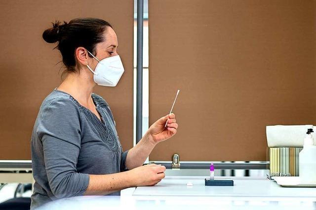 Das Ziel des E+H-Zentrums in Maulburg sind wöchentlich 1000 Tests