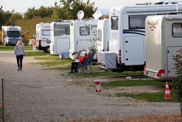 In Altenheim beim Anglerheim entsteht ein Wohnmobilstellplatz