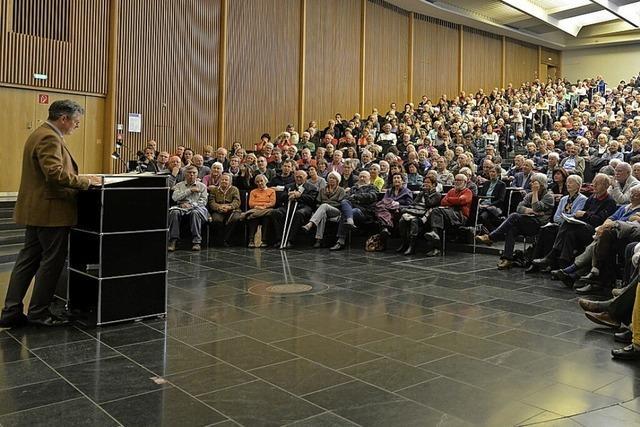 Die Freiburger Samstags-Uni beschäftigt sich diesmal mit dem Klimawandel