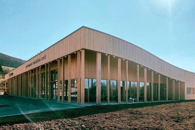 Schopfheimer Architekt erntet Lob für Holz-Supermarkt