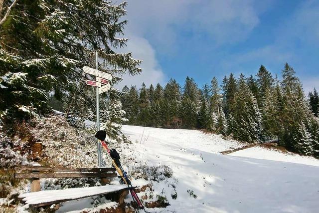 Die letzte Skitour am Rohrhardsberg in dieser Saison?