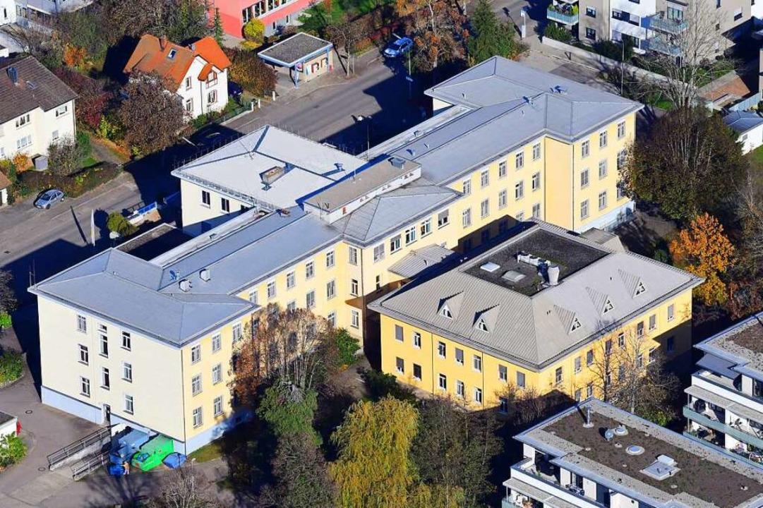 Der Schopfheimer Standort der Lörracher Kreiskliniken  | Foto: Erich Meyer
