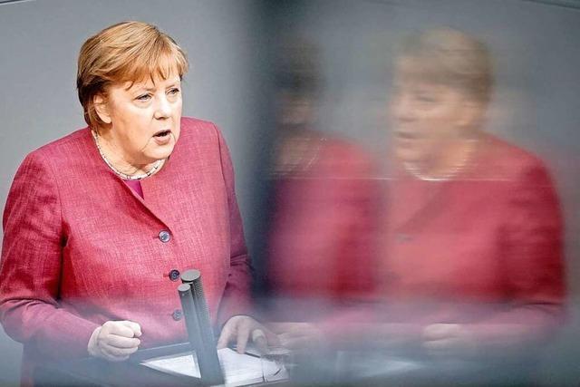 Heftige Debatte im Bundestag über Bundes-Notbremse