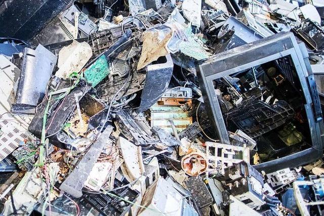 Was ist Elektroschrott und wohin damit?