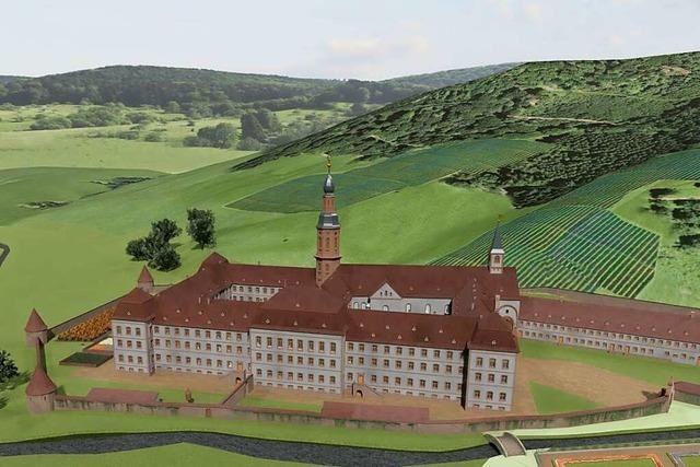 Dokument entdeckt, das Kloster Ettenheimmünster in der Zeit vor 1730 zeigt