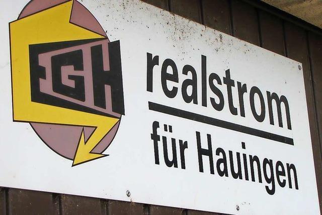 Die Elektrizitätsgenossenschaft Hauingen ist ein Garant bürgernaher Energiepolitik